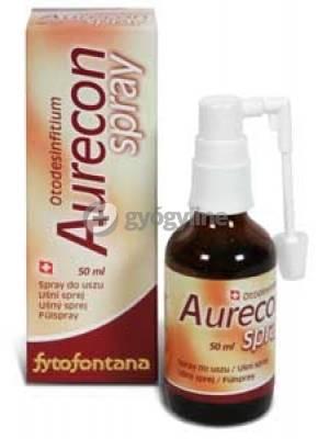 Aurecon fülspray 50 ml