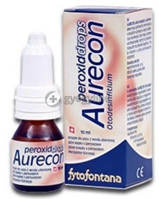 Aurecon junior forte fülcsepp 10 ml