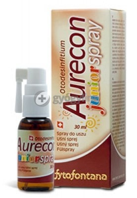 Aurecon junior fülspray 30 ml