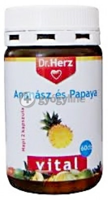 Dr. Herz ananász papaya enzim kapszula 60 db