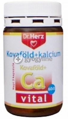 Dr. Herz kovaföld+kalcium kapszula 60 db