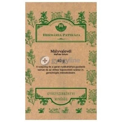 Herbária mályvalevél tea 40 g