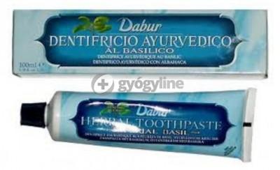 Dabur gyógynövénytartalmú fogkrém bazsalikommal 100 ml