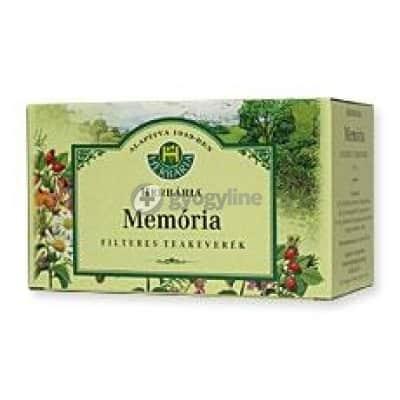 Herbária Memória filteres teakeverék 20 x 1g