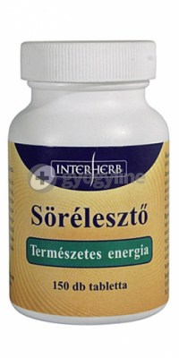 Interherb vital sörélesztő tabletta 150 db
