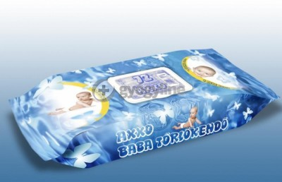 Axxo kupakos baba törlőkendő 72 db