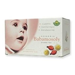 Herbária babamosoly gyermek teakeverék 20 x 2 g