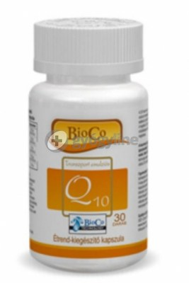 Bioco vízzel elegyedő Q10 20mg-os - 30 db