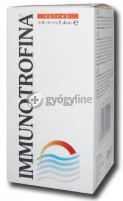 Immunotrofina szirup 200 ml