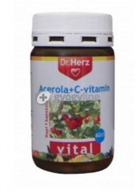 Dr. Herz acerola C-vitamin kapszula 60 db