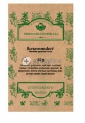 Herbária borsmentalevél 30 g