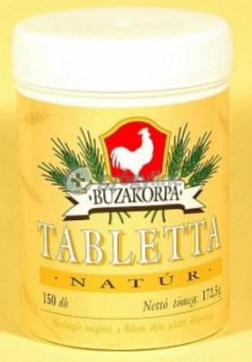 Búzakorpa tabletta 150 db