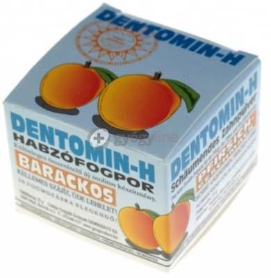 Dentomin H habzó fogpor 25 g - Eper