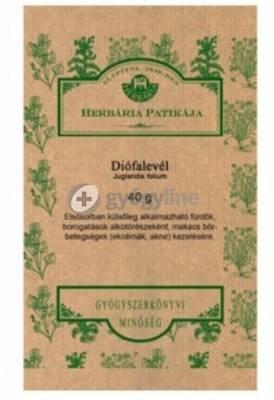 Herbária diólevél tea 40 g