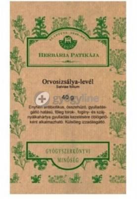 Herbária orvosi zsályalevél 40 g