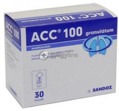 ACC 100 granulátum 30 db