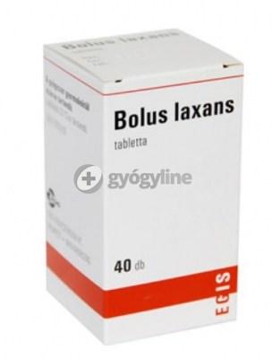 Bolus laxans tabletta 40 db