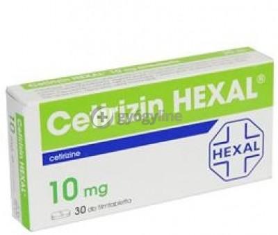 Cetirizin hexal 10 mg filmtabletta 30 db
