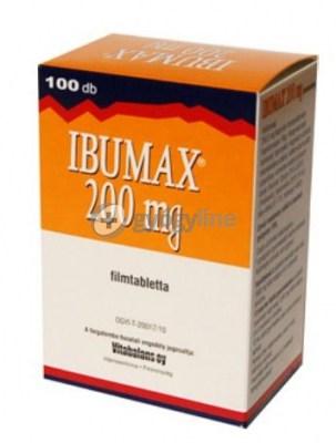 Ibumax 200 mg filmtabletta - 100 db