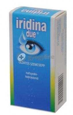 Iridina due oldatos szemcsepp 10 ml
