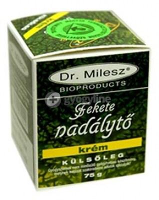 Dr. Milesz fekete nadálytő krém 75 g