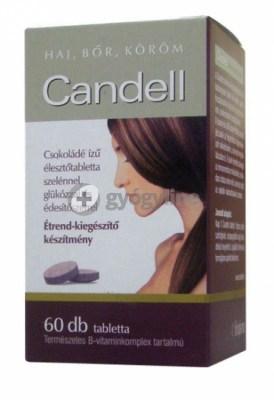 Candell élesztőtabletta 60 db