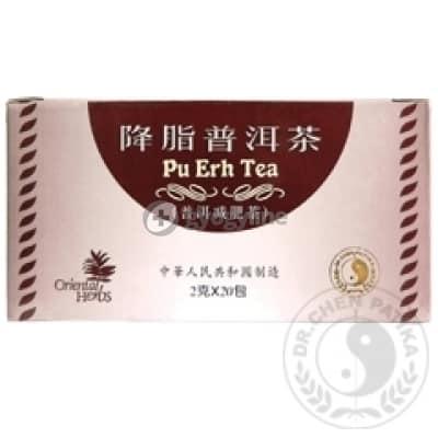 Dr. Chen Pu-erh tea (vörös tea) 20 filter