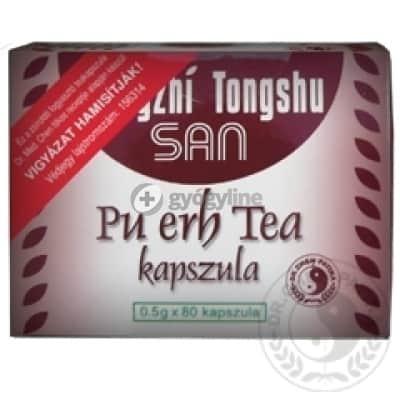 Dr. Chen pu-erh tea kapszula 80 db
