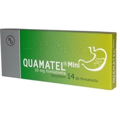 Quamatel mini 10 mg filmtabletta, 14 db