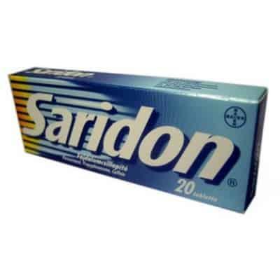 Saridon fájdalomcsillapító tabletta 20 db
