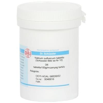 Schüssler-só Nr.10 natrium sulfuricum D6 400 db