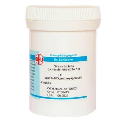 Schüssler-só Nr.11 silicea D6 400 db
