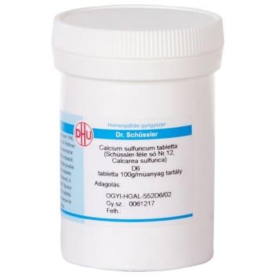 Schüssler-só Nr.12 calcium sulfuricum D6 400 db
