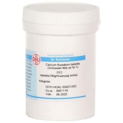 Schüssler-só Nr.1 calcium fluoratum D12 400 db