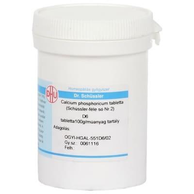 Schüssler-só Nr.2 calcium phosphoricum D6 400 db