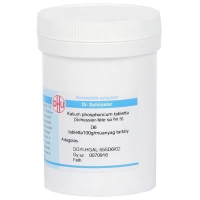 Schüssler-só Nr.5 kalium phosphoricum D6 400 db