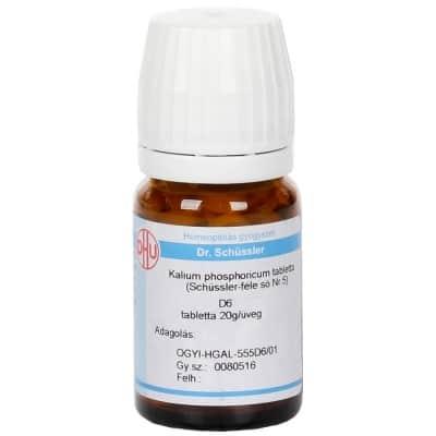 Schüssler-só Nr.5 kalium phosphoricum D6 80 db