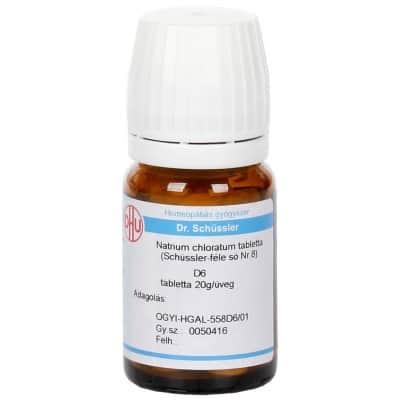 Schüssler-só Nr.8 natrium chloratum D6  80 db