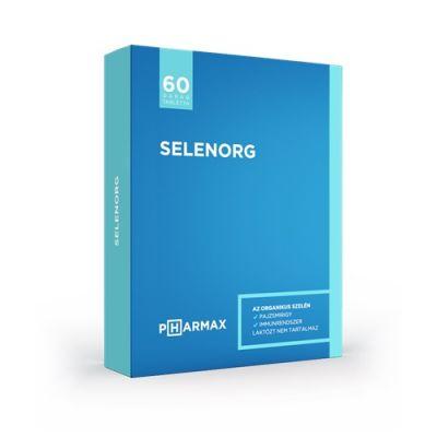 Pharmax Selenorg szelén tabletta 60 db