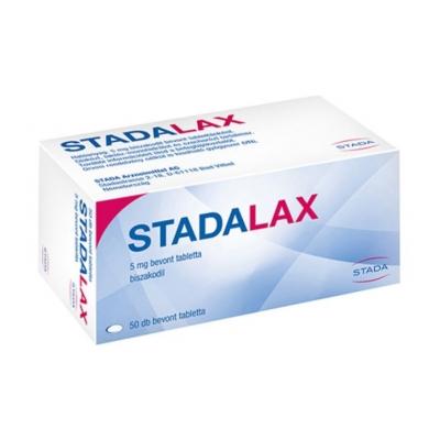 Stadalax 5 mg bevont hashajtó tabletta 50 db