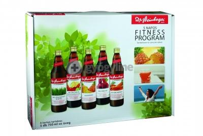 Dr. Steinberger 5 napos fitness program 5 x 750 ml