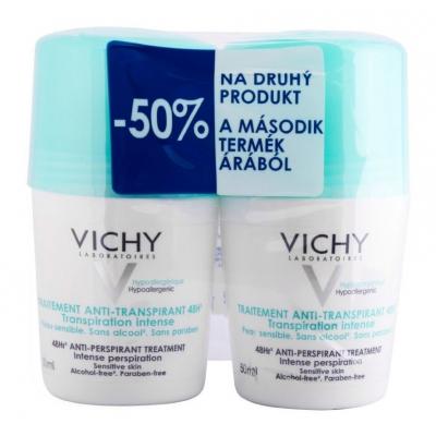 Vichy izzadásszabályozó golyós dezodor zöld kupakos duopack 50 ml + 50 ml