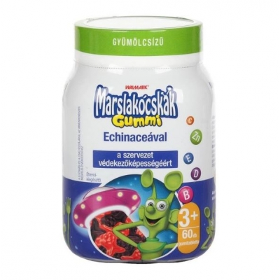 Walmark marslakócskák gummi echinacea tabletta 60 db
