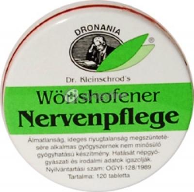 Wörishofener nervenpflegen nyugtató tabletta 120 db