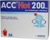 ACC Hot 200 mg por belsőleges oldathoz forró ital 20 db
