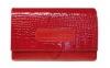 Anabox de luxe 7x1 hét/nap gyógyszeradagoló bőr tokban 1 szett - piros