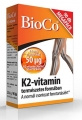 Bioco K2-vitamin 50 mcg tabletta 90 db