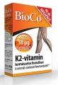 Bioco K2-vitamin 50 mcg tabletta 90 db