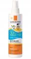 La Roche-Posay Anthelios dermo pediatrics <br> gyermek napvédő spray SPF50+ 200 ml