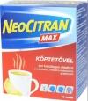 Neo Citran Max köptetővel por belsőleges oldathoz, 10 db